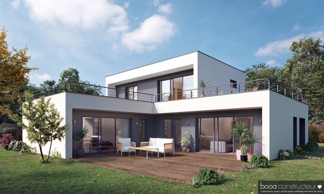 Constructeur De Maison A Ossature Bois Maison Booa A Reims