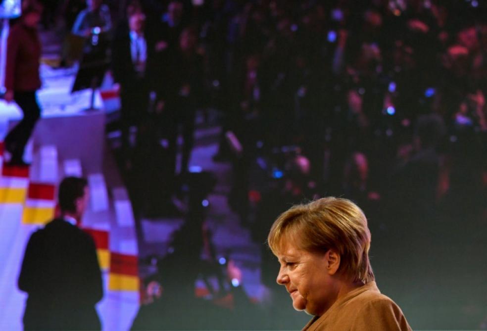 a316d325dfe La fin d une ère  Angela Merkel passe le relais à la tête de son ...