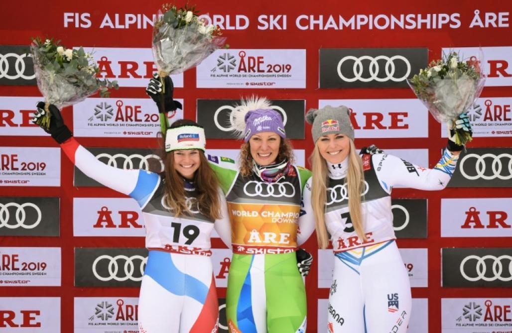 Mondiaux de ski: Shiffrin répond vivement à Vonn