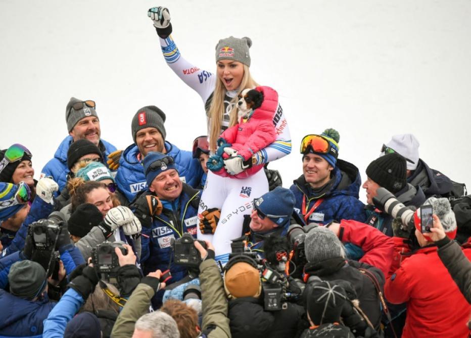 Mondiaux de ski miracle en bronze pour Vonn doublé doré pour Stuhec