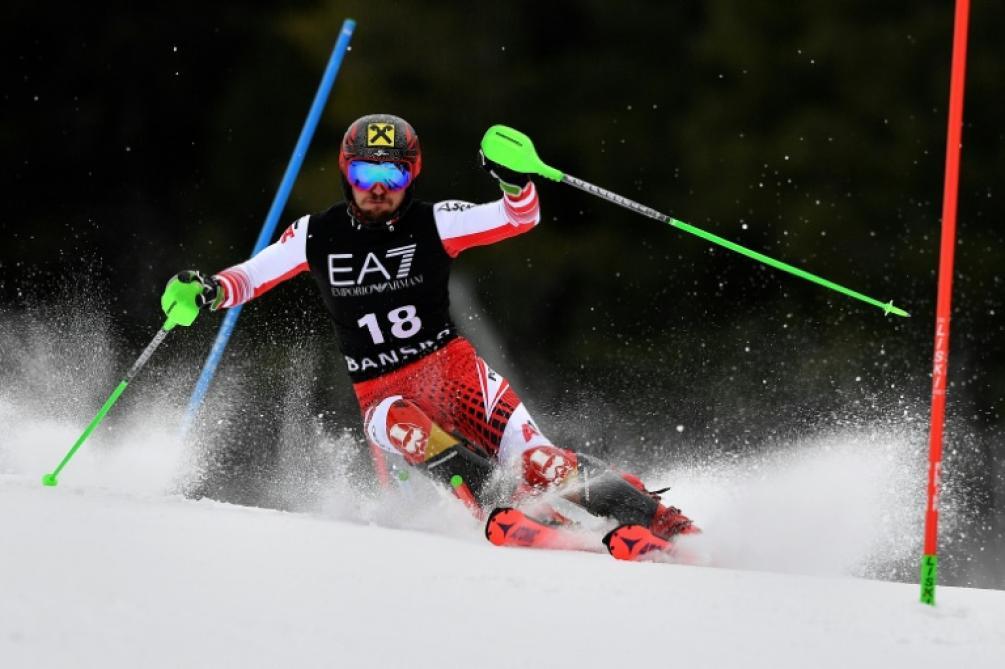 Ski alpin: Hirscher impérial dans la première manche du
