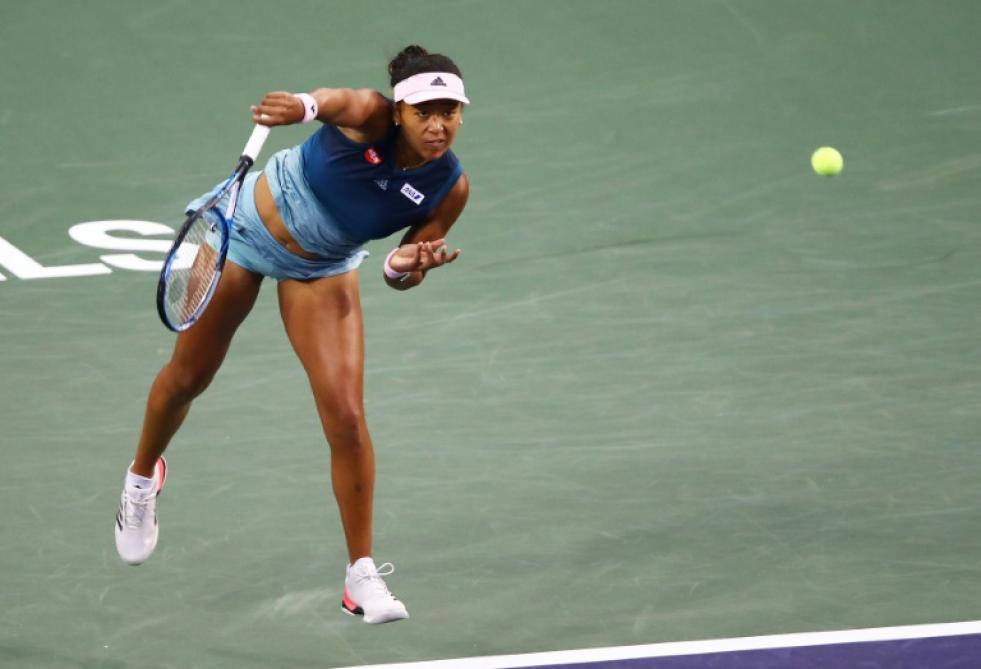 Naomi Osaka domine Danielle Collins — Indian Wells