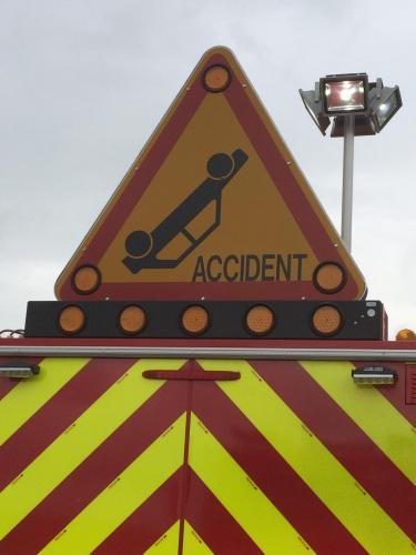 Accident et gros bouchon sur l'A34 entre Sedan et Charleville-Mézières - L'Ardennais