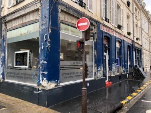 «Jolie découverte» lors de travaux de façade rue Clovis à Reims - L'Union