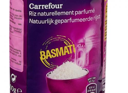 Toxine potentiellement dangereuse: Carrefour procède au rappel de paquets de riz basmati - L'Union