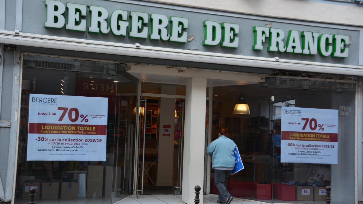 71e2ef8437505c Le magasin châlonnais Bergère de France baisse le rideau - Journal ...