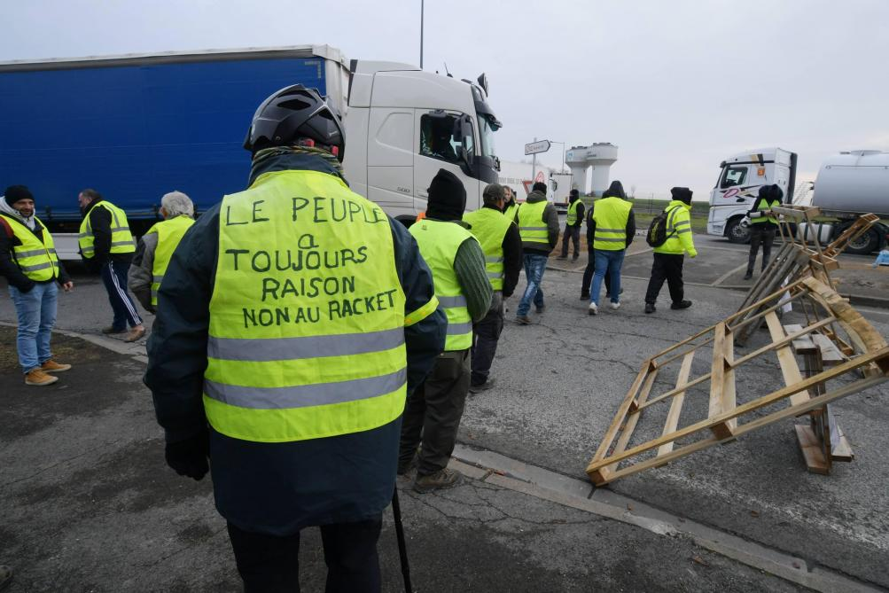 mobilisation des gilets jaunes les points de blocage r gion par r gion journal l 39 union. Black Bedroom Furniture Sets. Home Design Ideas