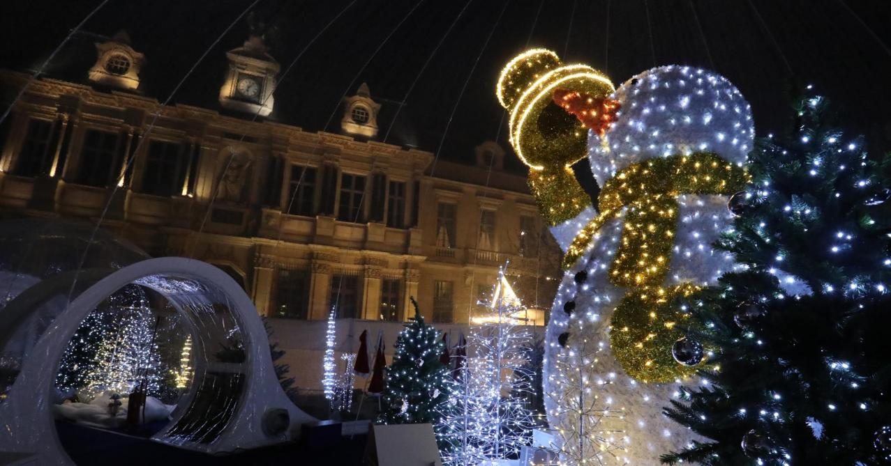 Troyes  les bulles enchantées de Noël (diaporama)