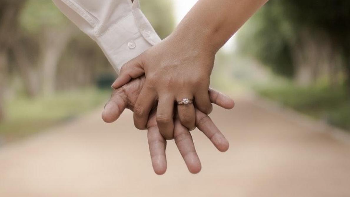 Mariage ne datant pas scène