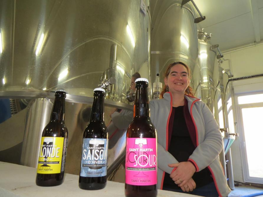 Une nouvelle bière pour les 15 ans de la brasserie de Saint-Martin ... d96876debca