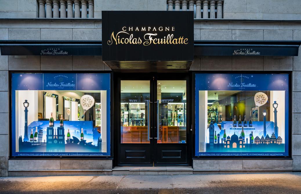 Paris La Boutique Pillée De Nicolas Feuillatte A Rouvert Journal