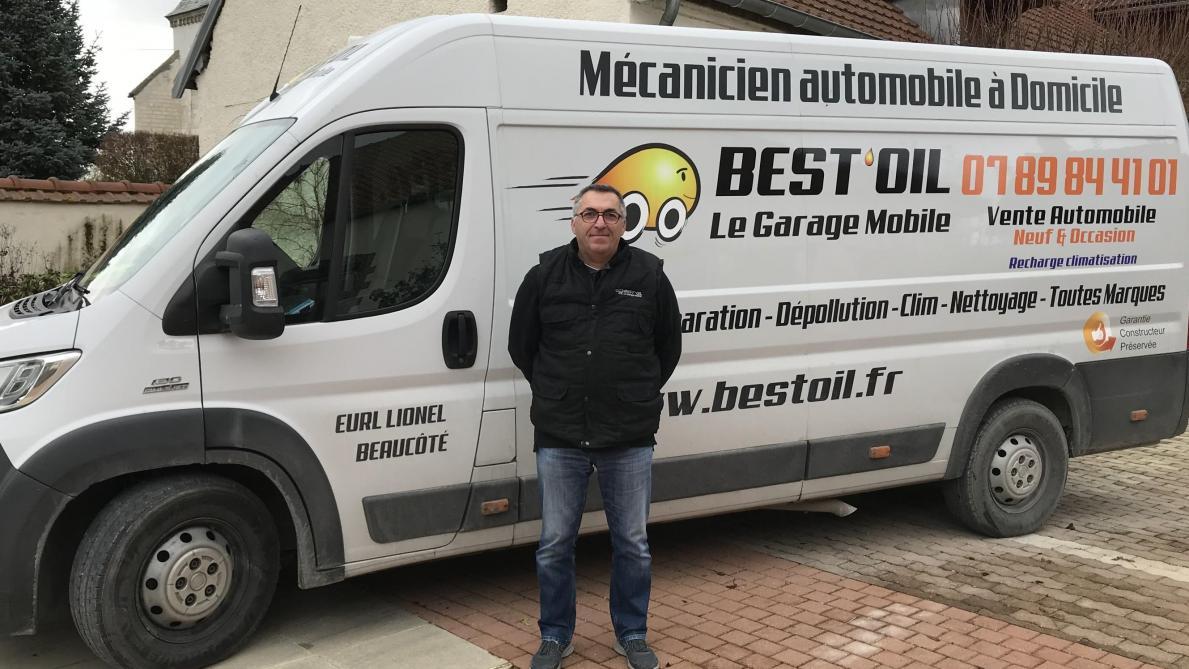 Saint-Mesmin: Lionel Beaucôté propose un garage à domicile