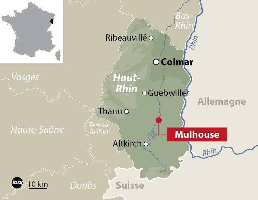 Trois femmes blessées à l'arme blanche par un déséquilibré — Mulhouse