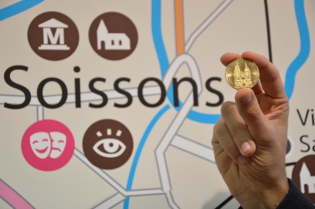 Une m daille souvenir frapp e par la monnaie de paris journal l 39 ardennais - Office de tourisme de soissons ...