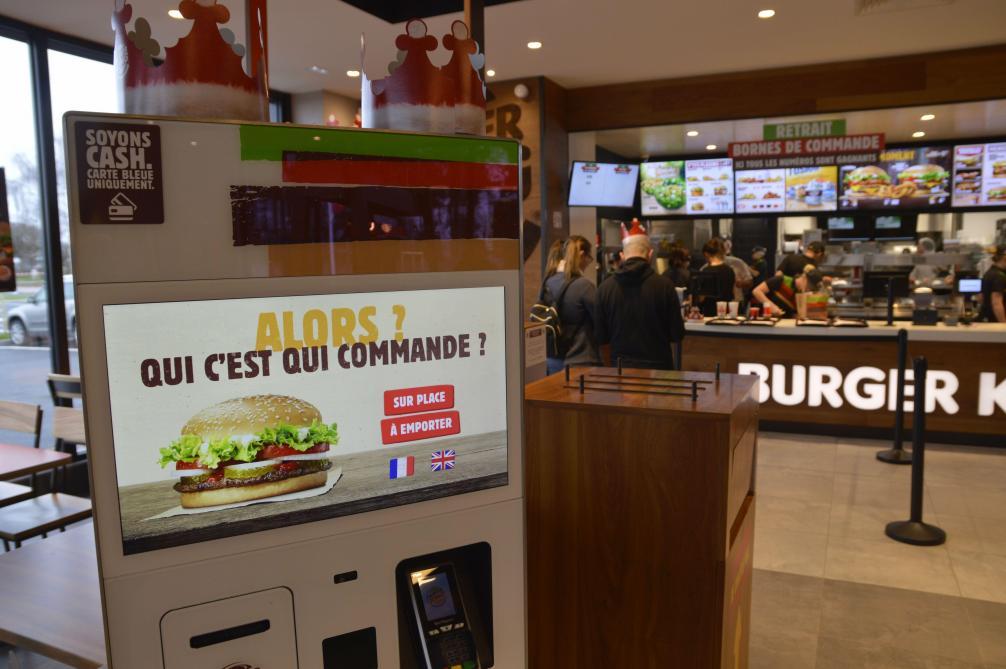 Vol Carte Bancaire Burger King.Un 4e Burger King Ouvre Ce Jeudi 27 Decembre Dans L