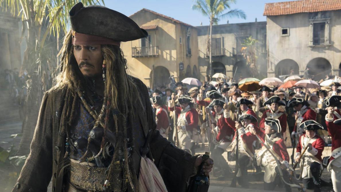 Quand Jack Sparrow rend visite à des enfants malades à Paris