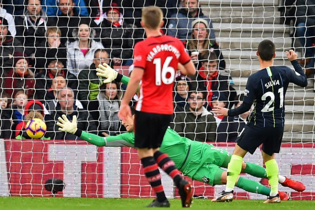 Man City réagit à Southampton — Premier League