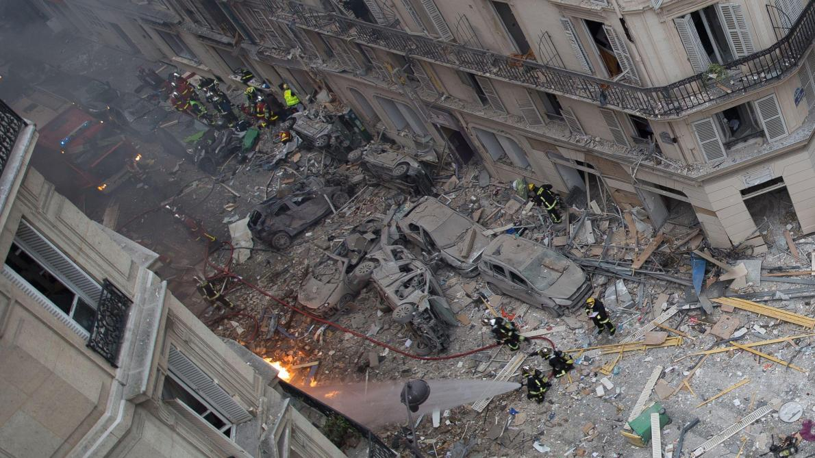 Forte explosion dans le 9e arrondissement — Paris
