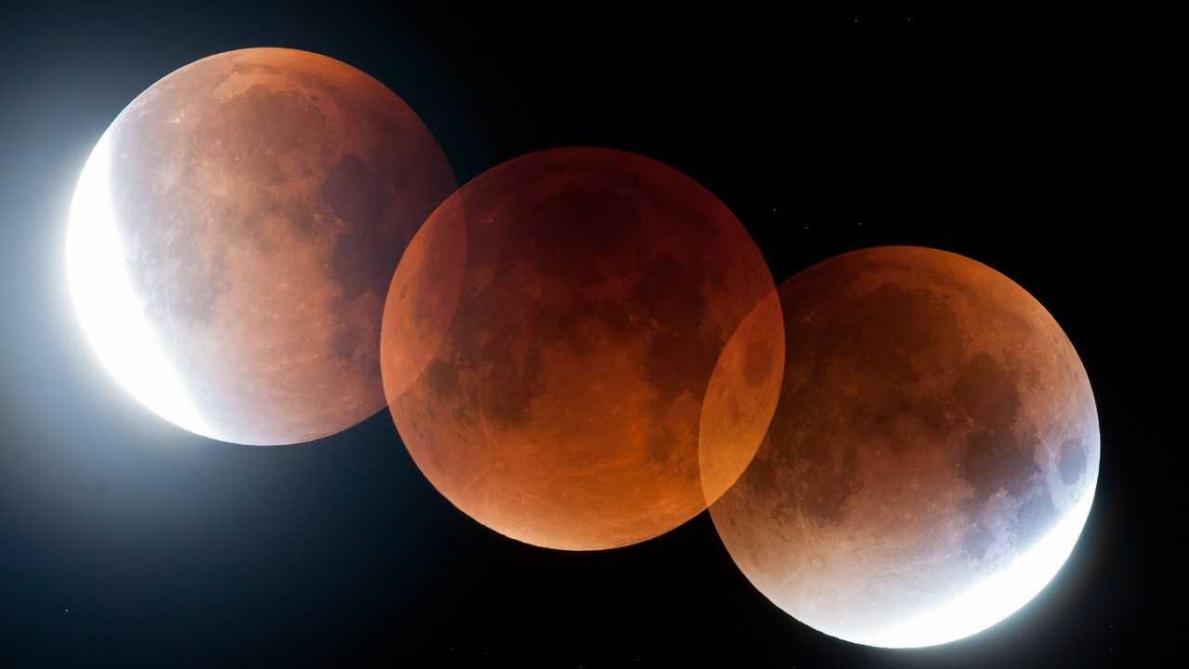 Éclipse de Lune dans la nuit du 20 au 21 janvier