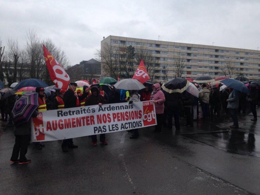 Les retraités ardennais appelés à manifester ce jeudi