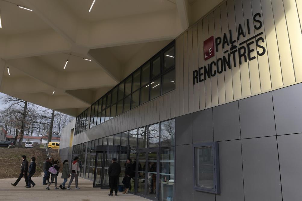 Inauguration du Palais des Rencontres