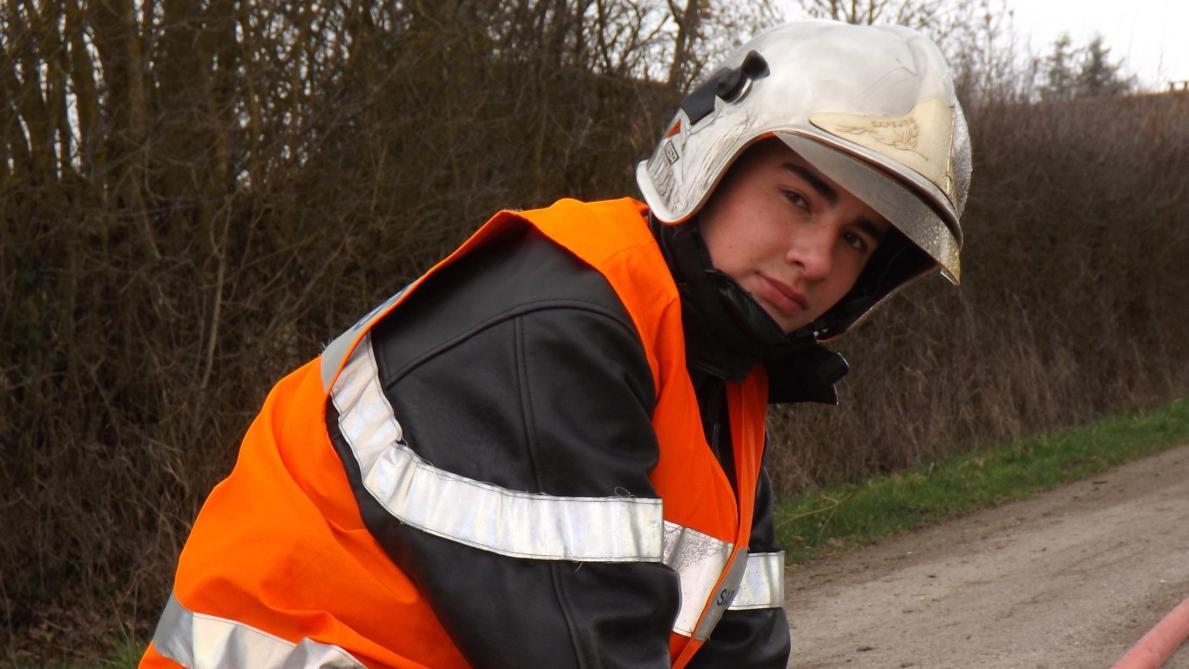 Maëlan Silva, 18 Ans, Pompier Dans Le Sang
