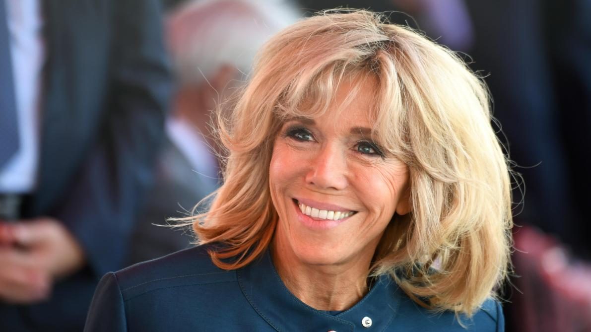 Brigitte Macron et Muriel Robin lancent un match mixte à Reims — Football