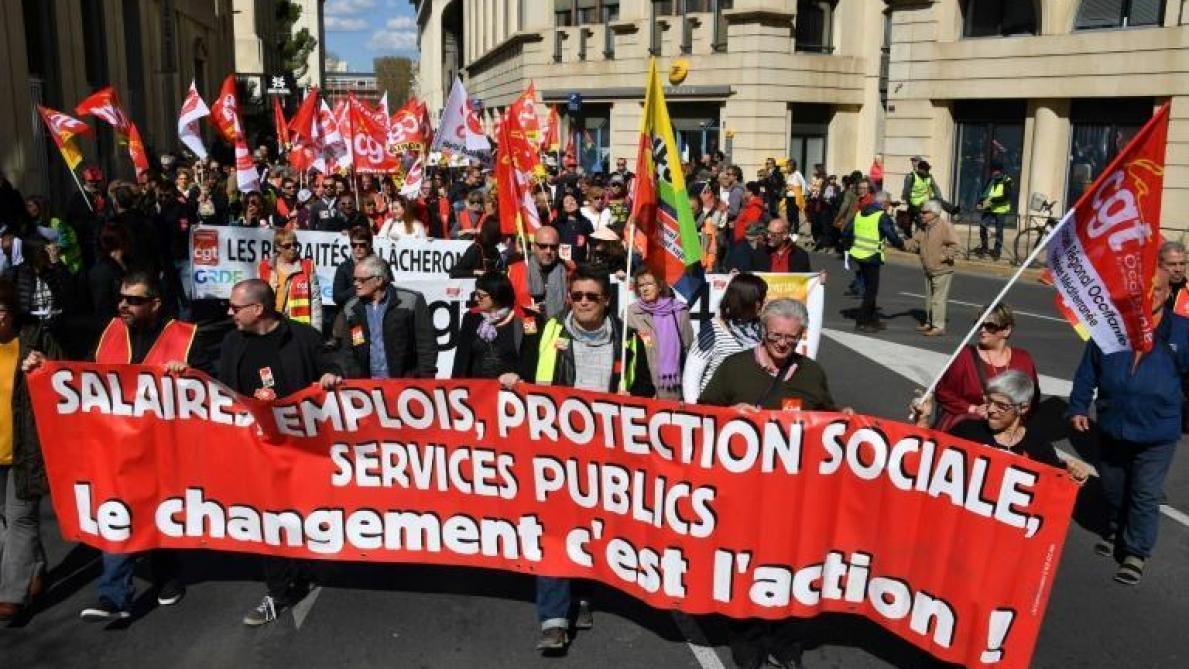 4417f597b57 Quel bilan pour la journée de grève du mardi 19 mars   - Journal L Union