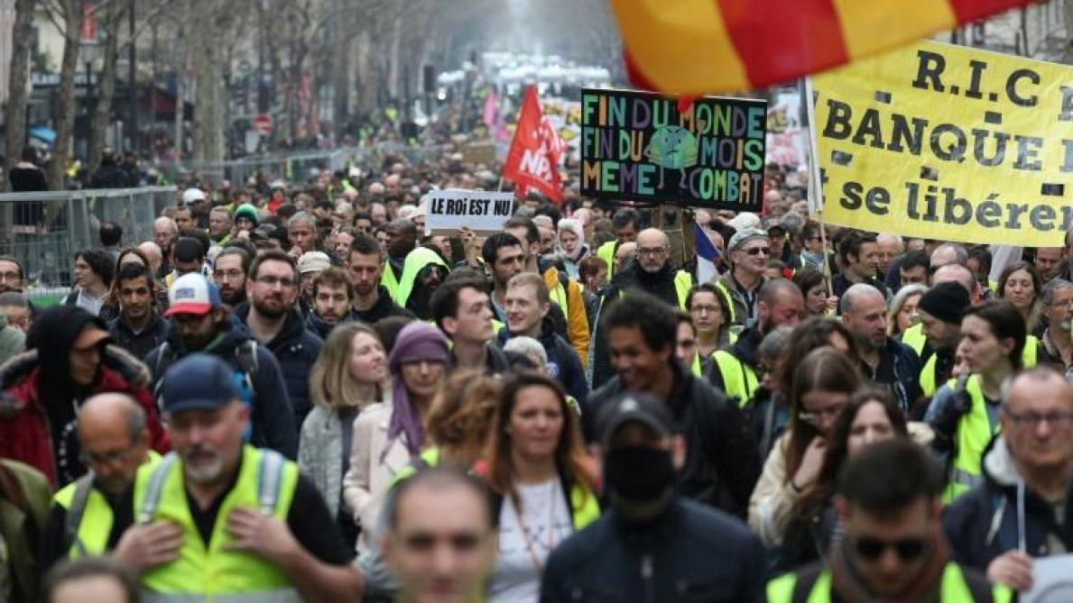 Gilets jaunes. Des affrontements à Montpellier et à Nice