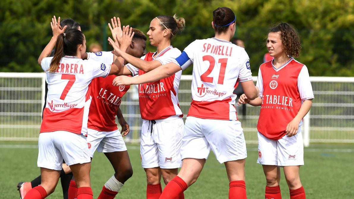 Football Pas Encore Les Vacances Pour Les Feminines Du Stade De Reims