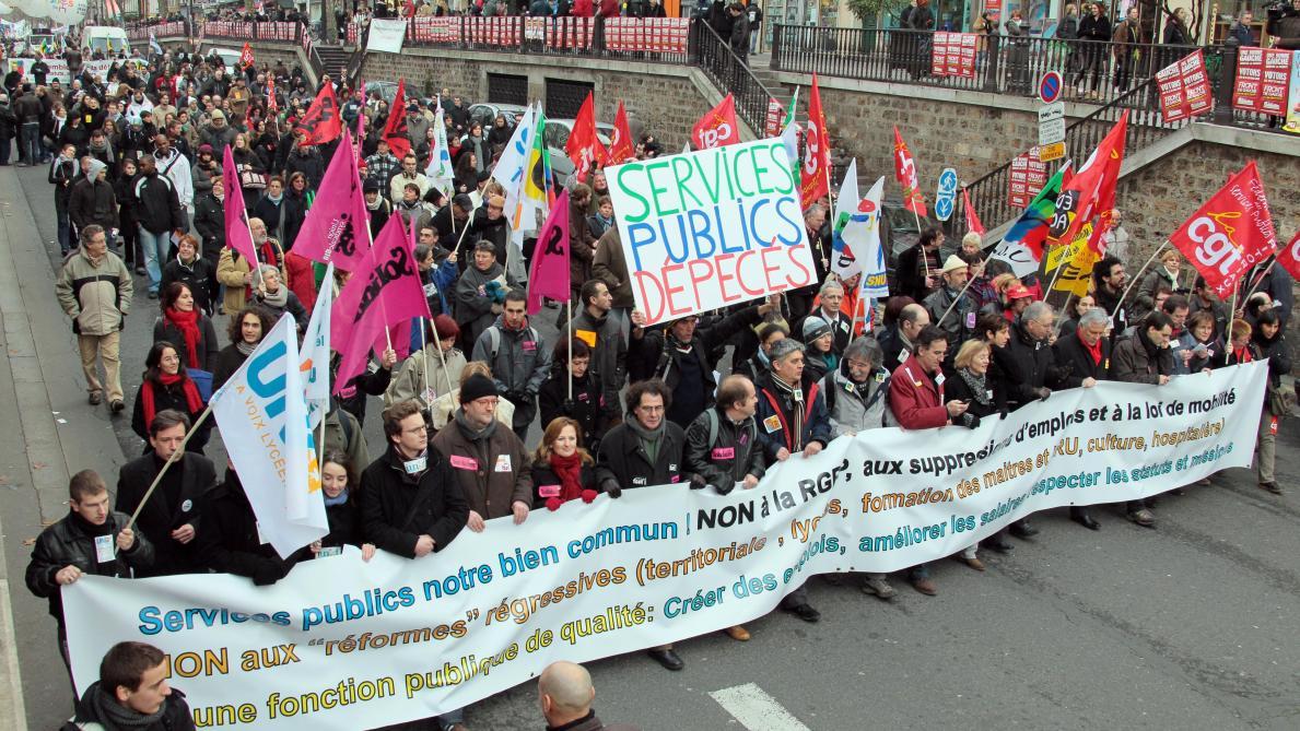 4b2e31d0ba6 Grève   les fonctionnaires manifestent jeudi 9 mai contre la réforme des  services publics