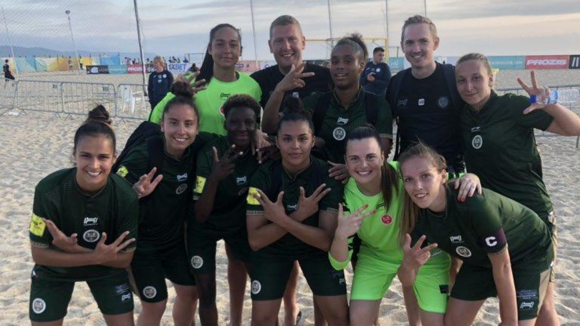 Beach Soccer Les Feminines Du Stade De Reims Demarrent Fort L