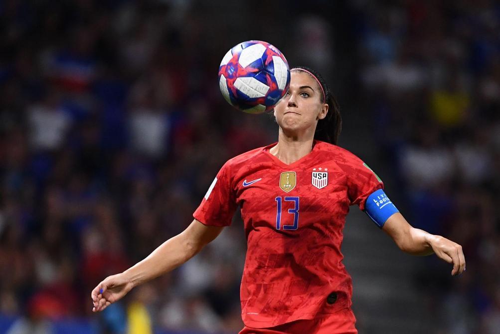 Football (Coupe du monde féminine) : Alex Morgan et Ellen White en