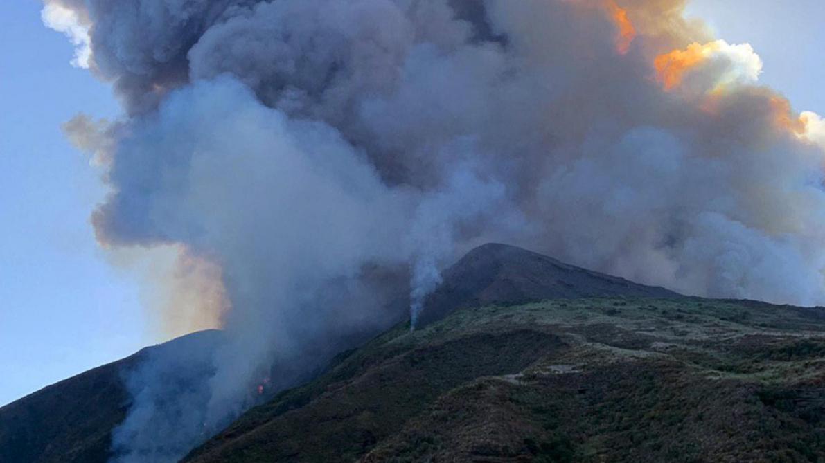 Un touriste tué dans la violente éruption du volcan Stromboli — Italie