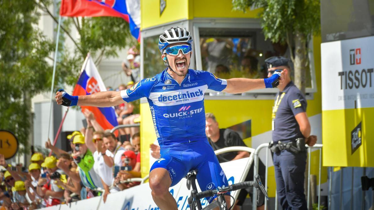 Skujins repris, Sunweb mène le peloton (direct) — Tour de France