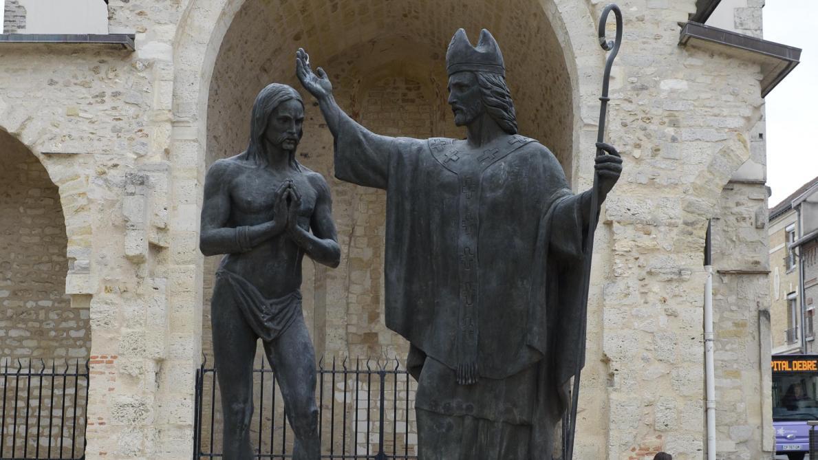 Reims Au Cœur De L Histoire Le Baptême De Clovis Début D Une Série De Sacres