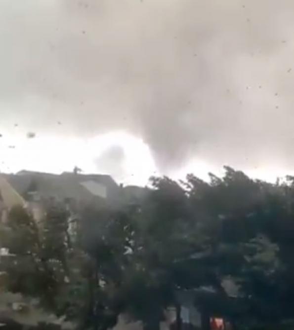 Luxembourg. Une violente tornade fait au moins sept blessés [Vidéo]