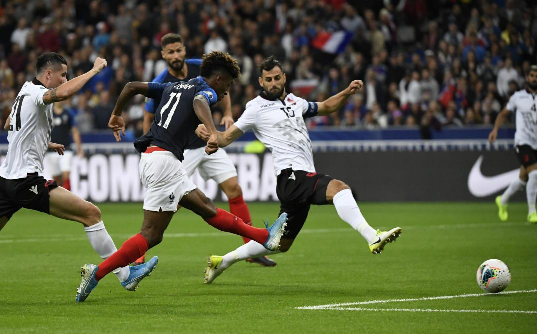 La France s'impose contre l'Albanie 4-1