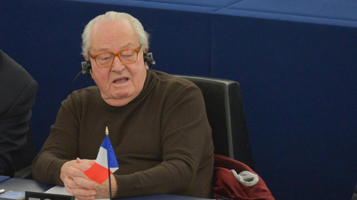Jean-Marie Le Pen au Parlement européen