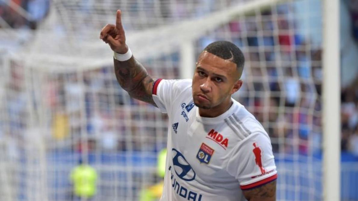 OL : Memphis Depay dépasse Fred au classement des meilleurs buteurs de Lyon