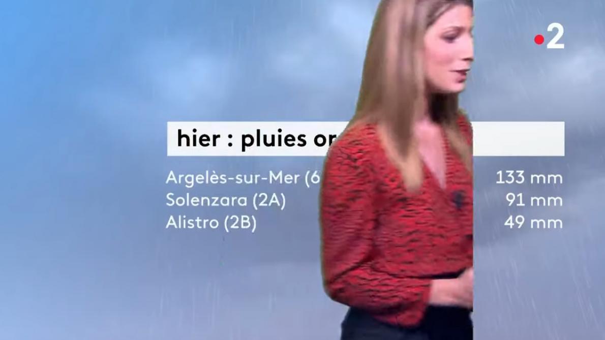 Gros couac sur la météo de France 2 dimanche soir