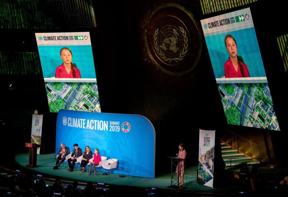 Greta Thunberg à l'ONU:
