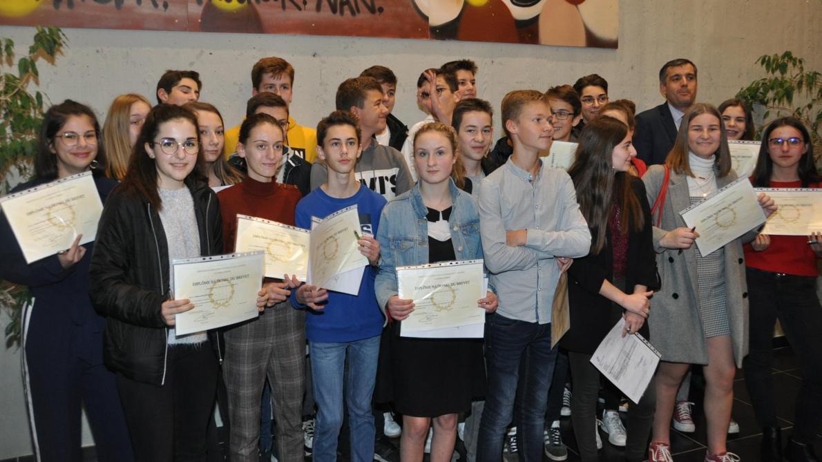 A Laon, le collège Mermoz met ses diplômés à l'honneur - L'Union