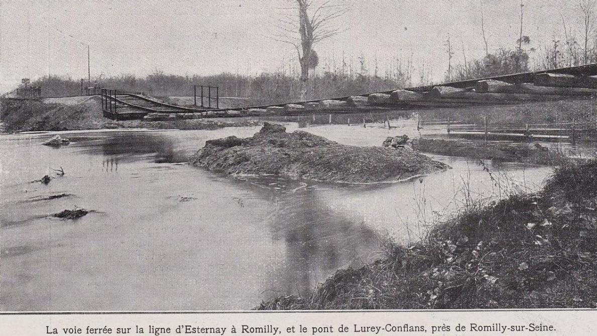 L'histoire ferroviaire du Val-Thibault à Romilly-sur-Seine - L'Est Eclair