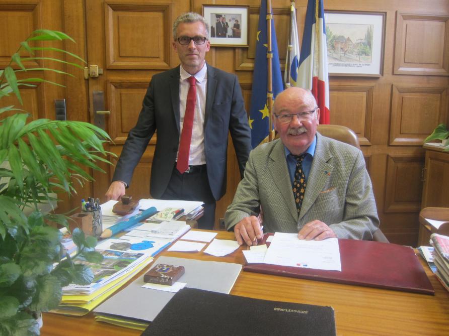A Chauny L Ancien Directeur De Cabinet Emmanuel Lievin Sera Candidat