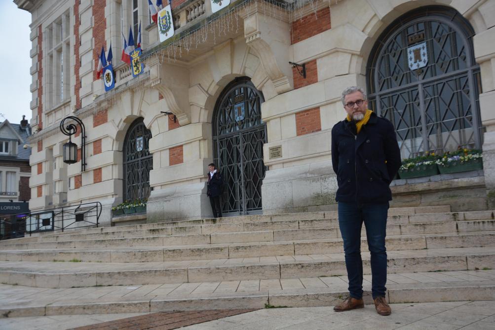 Emmanuel Lievin, candidat sortant à Chauny - L'Union
