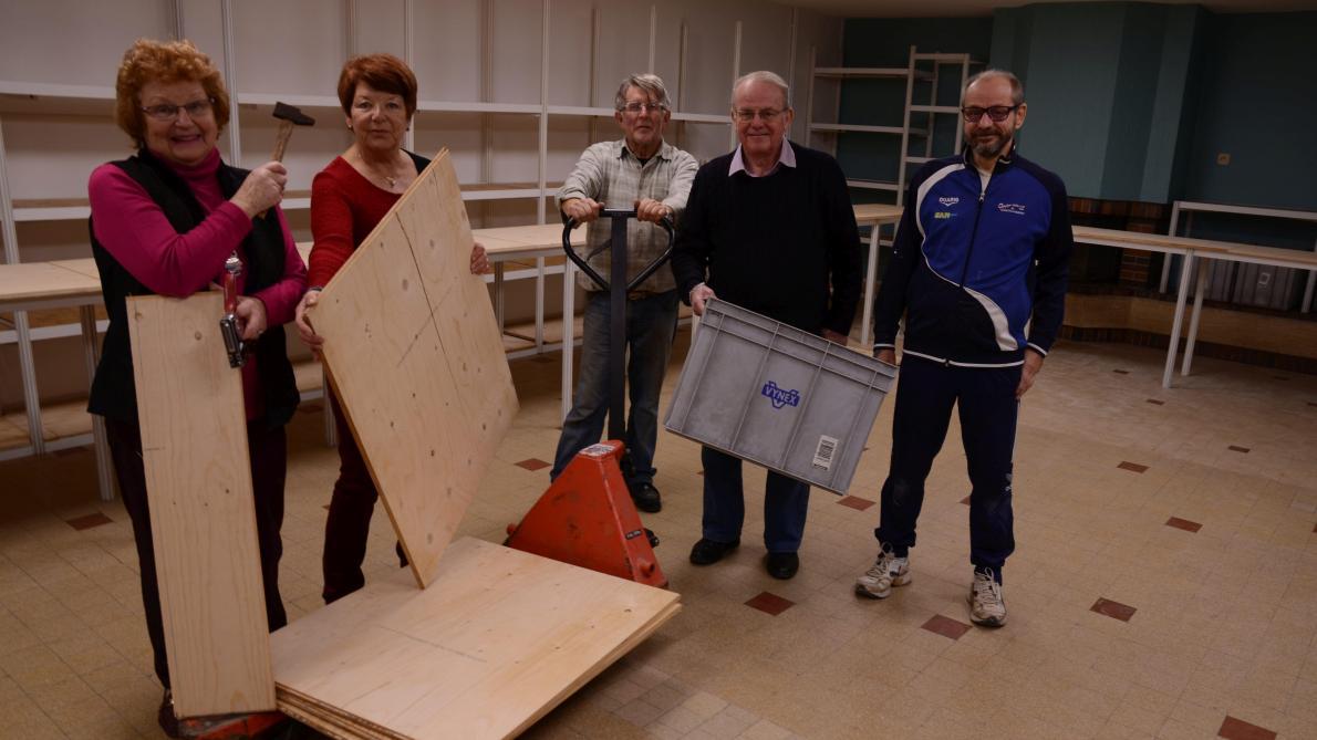 Les Restos du centre Mrne de Sedan prêts pour la campagne d'hiver - L'Ardennais