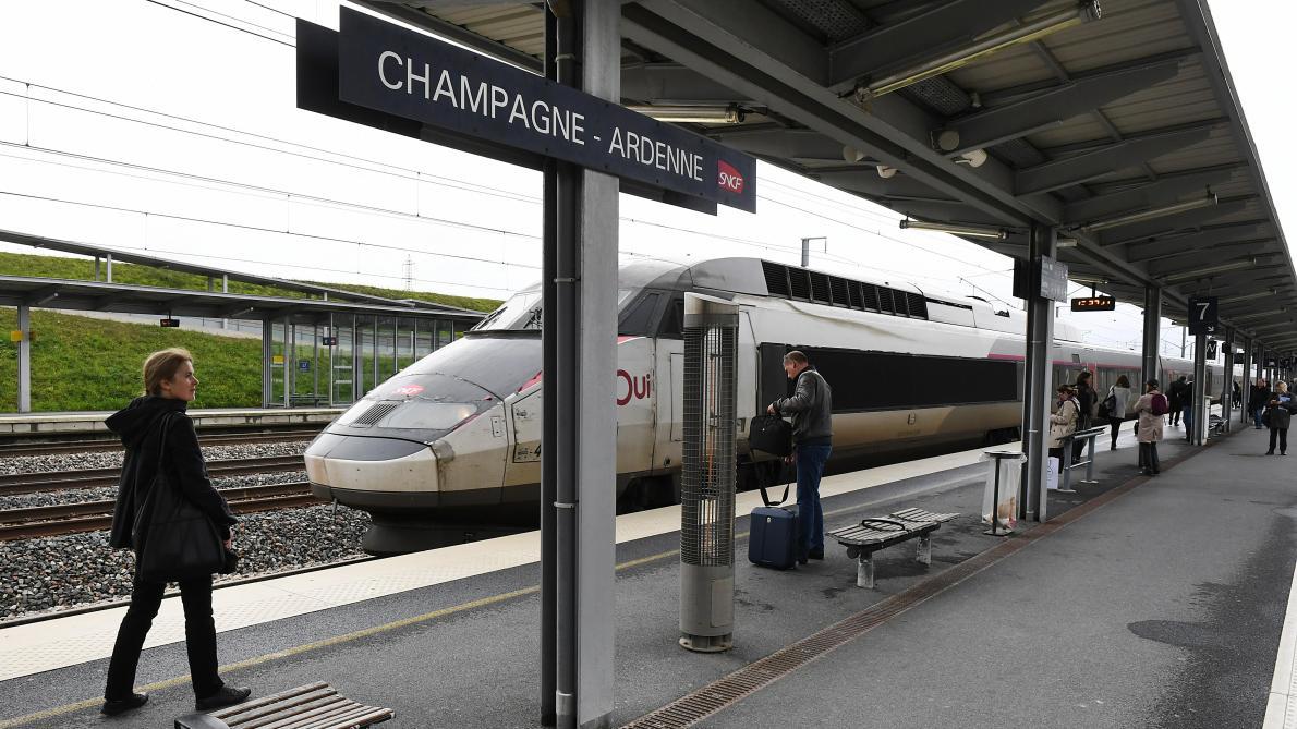 TGV en moins à Reims vers Roissy, échange de courriers entre la députée et la SNCF - L'Union