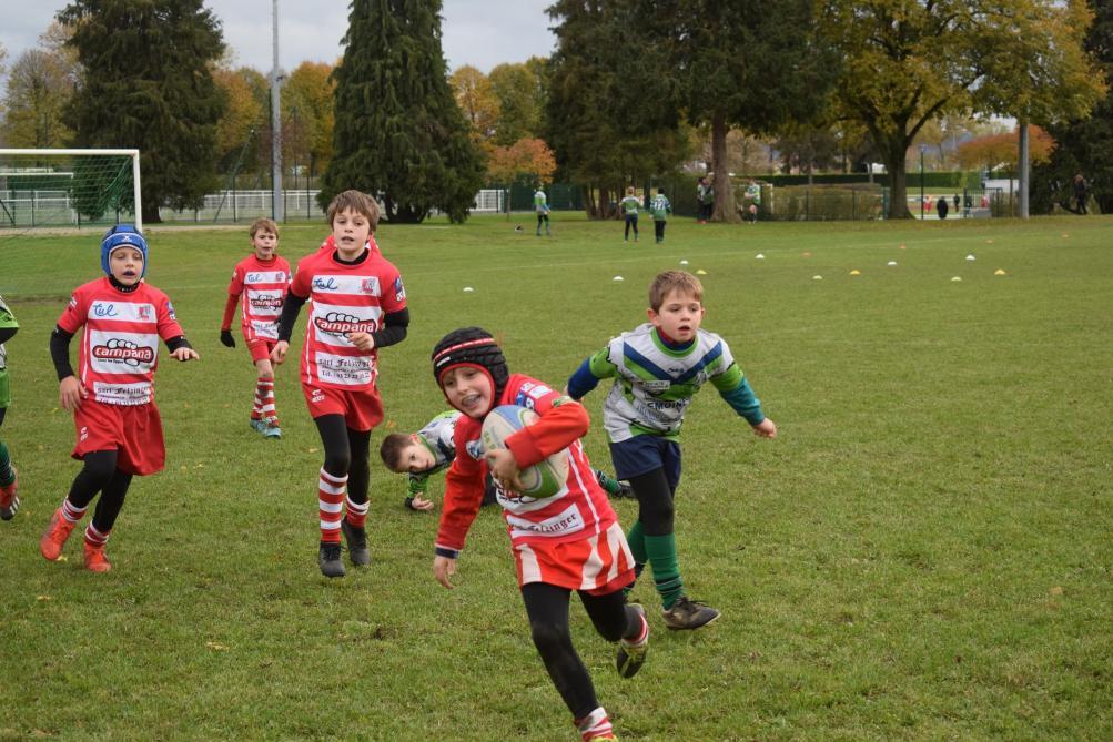A Laon, l'école de rugby accueille 80 jeunes - L'Union
