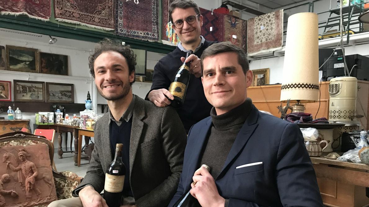 A La Recherche De Champagnes Anciens
